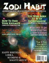 Zodi Habit Magazine October-December 2014 Issue