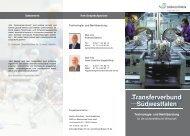 Transferverbund Südwestfalen - GWS