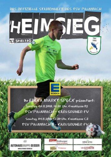 TSV Palmbach Saison 18-19 Heft 6