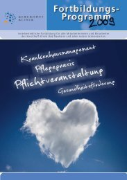 Pflichtveranst - Kerckhoff-Klinik
