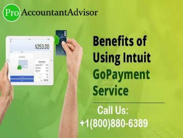 Benefits of Using Intuit QuickBooks GoPayment Service