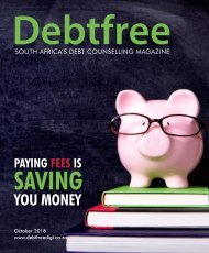 Debtfree October 2018