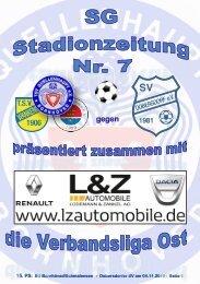 TSV  Stadionzeitung 7-18-DSV-041118