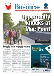 Tasmanian Business Reporter November 2018