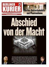 Berliner Kurier 30.10.2018