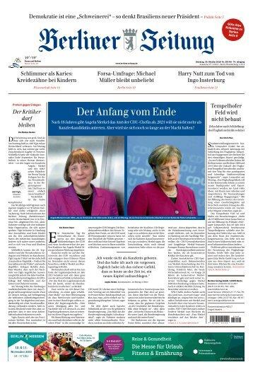 Berliner Zeitung 30.10.2018