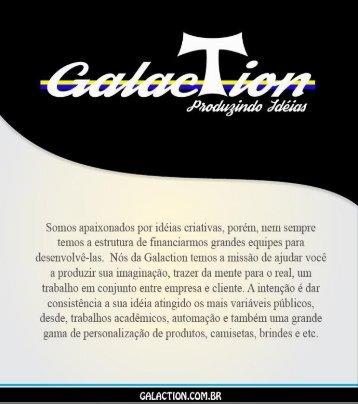 Apresentação Galaction Produzindo Idéias