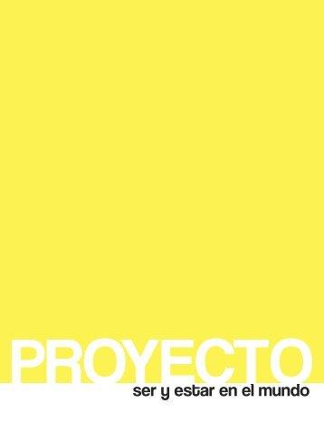 Proyecto SER Y ESTAR EN EL MUNDO