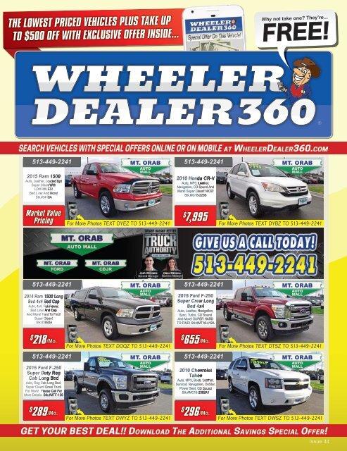Mt Orab Auto Mall >> Wheeler Dealer 360 Issue 44 2018
