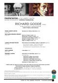 CAMA's Masterseries Presents Richard Goode, Piano—Friday, November 9, 2018, Lobero Theatre, Santa Barbara, 8:00 PM - Page 5