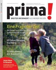 prima! Magazin - Ausgabe November 2018