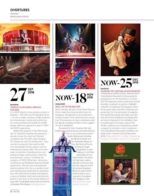 Fah Thai Magazine Nov-Dec 2018