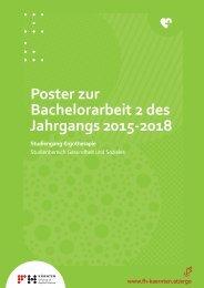 Poster zur Bachelorarbeit 2 des Jahrgangs 2015-2018