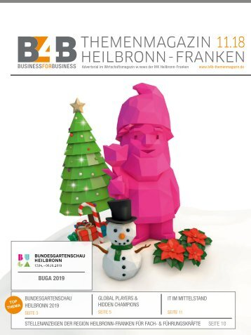 BUNDESGARTENSCHAU HEILBRONN 2019 | B4B Themenmagazin 11.2018