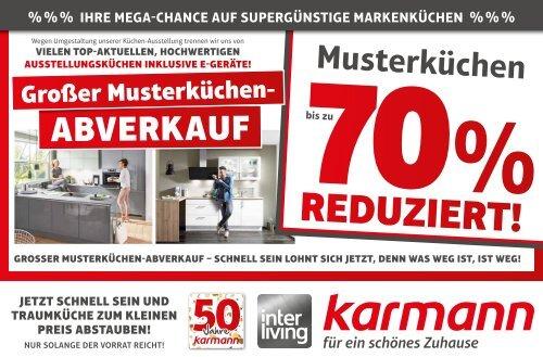 Grosser Kuchen Abverkauf Bei Mobel Karmann