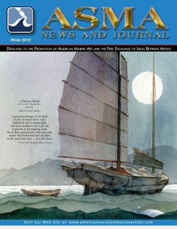 Winter 2012 - American Society of Marine Artists