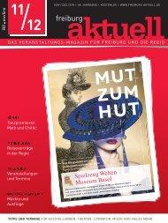Freiburg Aktuell, Ausgabe November / Dezember 2018