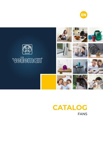 Velleman Fans Catalogue - EN