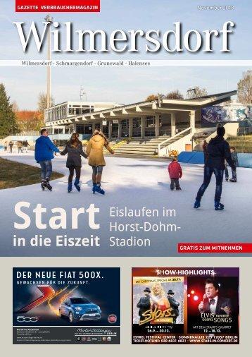 Gazette Wilmersdorf November 2018