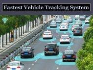 Fastest Vehicle tracking system | GPS tracking system - Tracking2u