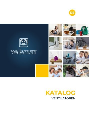 Velleman Fans Catalogue - DE
