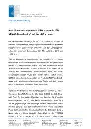 NEMAS Branchentreff 2010 - Gesellschaft zur Wirtschafts- und ...