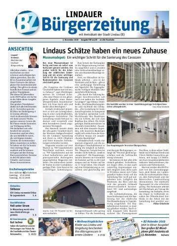 03.11.2018 Lindauer Bürgerzeitung