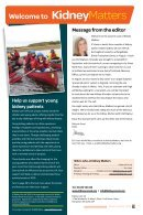 Kidney Matters - Issue 3, Autumn 2018 - Page 3