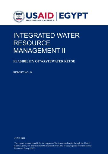 FEASIBILITY OF WASTEWATER REUSE - Integration is Key to