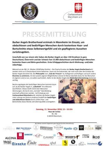 Pressemitteilung Barber Angels_Mannheim November 2018