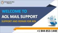 AOL Email – A Quick Glance +1 844-853-1440