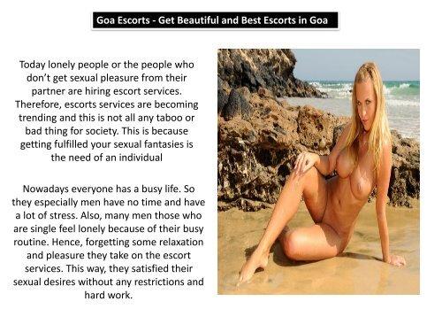 Seductive Goa Independent Escorts Girls