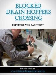 Blocked Drain Hoppers Crossing