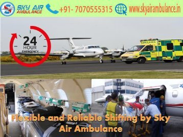 Avail Instant Shifting by Sky Air Ambulance in Gaya