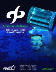 Glo-Black LED UV-A Lamps