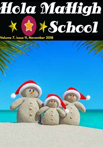 Hola MaHigh-School - November 2018