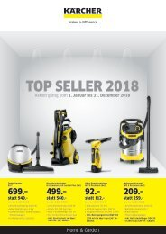 2018 Kärcher Top Seller