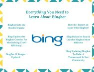 Everything You Need to Learn About Bingbot