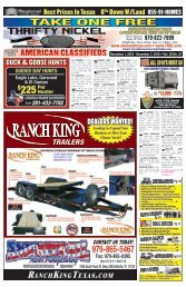 Thrifty Nickel/American Classifieds Nov. 1st Edition Bryan/College Station