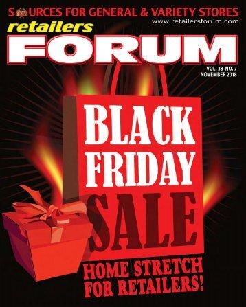 Retailers Forum E-Magazine Nov. 2018