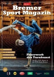 BREMER SPORT Magazin | November 2018