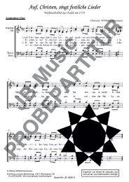 Auf Christen singt festliche Lieder (für Gemischten Chor SATB)