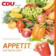 CDU Kochbuch