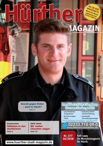 Hürther Stadt Magazin Oktober 2018