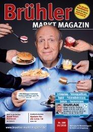 Brühler Markt Magazin Oktober 2018