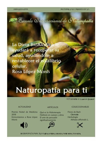 Revista Naturopatia para Ti  num 26