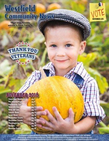 Westfield Community November 2018