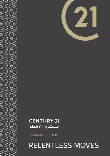 C21 Company Profile Layout