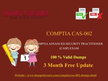 CompTIA CAS-002 Dumps