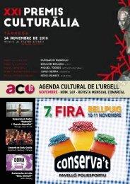 Agenda novembre 18